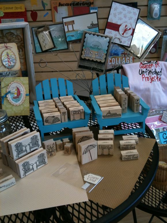 Our custom cape cod stamps are all back in stock!