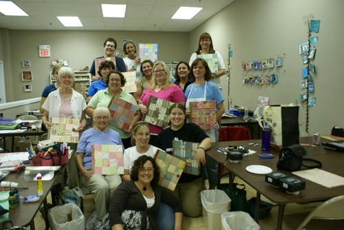 2007: donna downey visits colorful creations