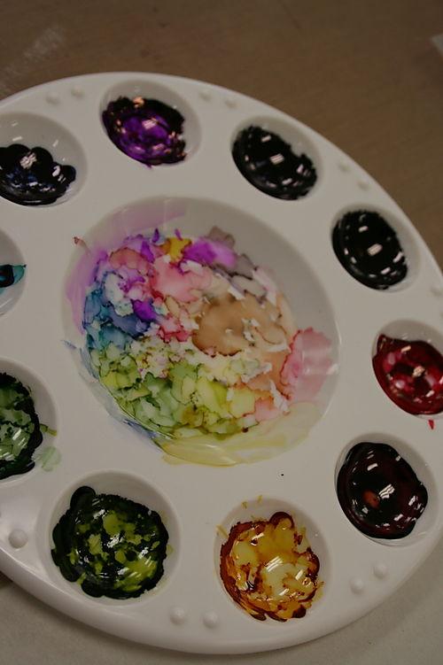 2008: tim holtz & mario visit colorful creations