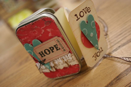 love tin mini $6
