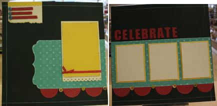 Celebrate 2 page layout $10