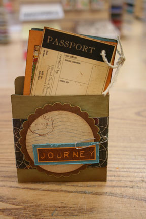 passport mini book $4