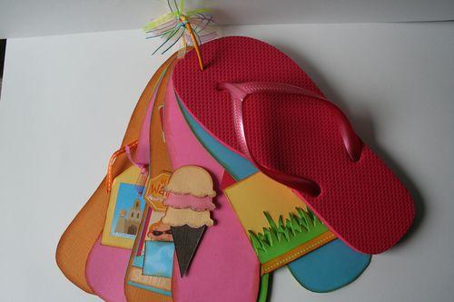 flip flop mini book  $20