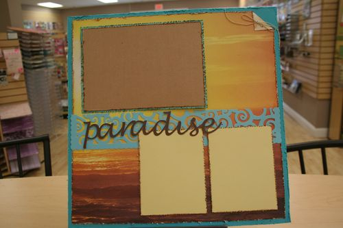 paradise single page layout $8