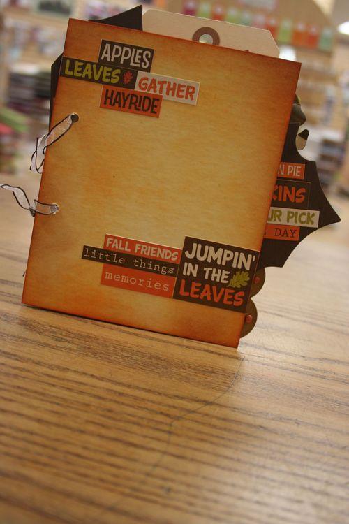 fall mini book $15