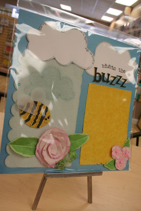 what's the buzzz single page layout $8