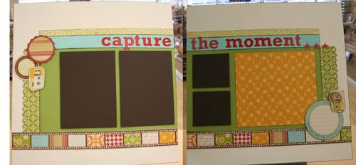 capture the moment 2 page layout $10