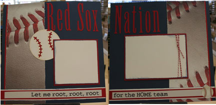 Redsox Nation 2 page layout $12